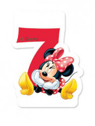Candela 7? compleanno Minnie Mouse Café™