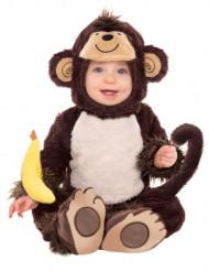 Costume da scimmietta neonato