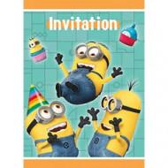 8 inviti di compleanno a tema Minions™