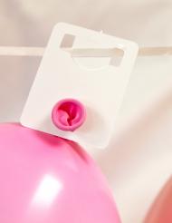 Ghirlanda con 24 supporti di cartone per palloncini