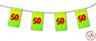 Ghirlanda di bandierine 50? compleanno