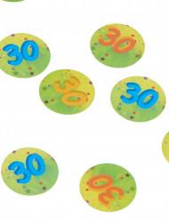 150 coriandoli da tavola per i 30 anni