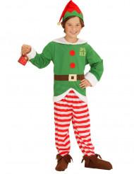 Costume elfo natalizio per bambino