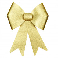 Fiocco gigante colore oro