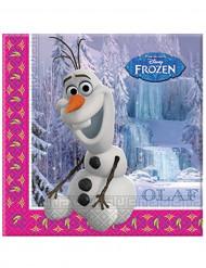 Tovaglioli di carta di Olaf  Frozen <br />- Il Regno di Ghiaccio™