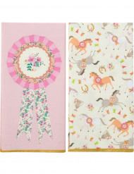 20 Tovaglioli di carta Pony 33 x 33 cm