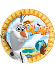 8 Piattini usa e getta Frozen Olaf™