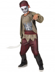 Travestimento da pirata zombie taglia bambino