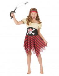 Travestimento pirata per bambina