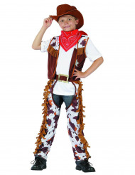 Travestimento da cowboy con frange per bambino