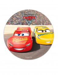 Disco di zucchero Cars™ 16 cm