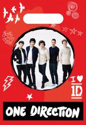 8 sacchetti di plastica One Direction™