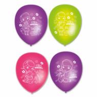 Lotto da 6 palloncini in lattice Dottoressa Peluche™