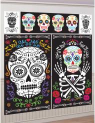 Set Decorazioni Halloween stile messicano