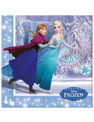 Tovaglioli di carta ufficiali Elsa Frozen™