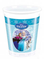 8 bicchieri di plastica blu di Frozen™