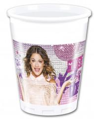 8 bicchieri di plastica di Violetta™