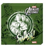 20 tovaglioli di carta verdi Avengers™