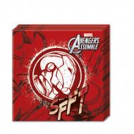 20 tovaglioli di carta rossi Avengers™