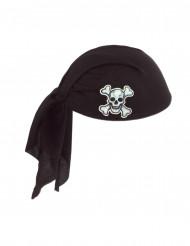 Cappello bandana nero adulto