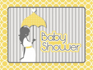 8 inviti per baby shower fashion