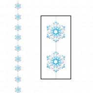 Decorazione pendente fiocchi di neve