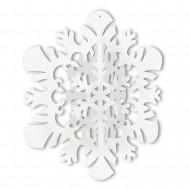 Decorazione da appendere Fiocchi di neve 3-D
