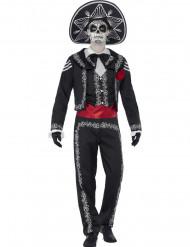 Costume da scheletro messicano