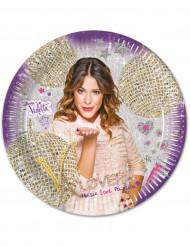 Piattini di carta di Violetta per feste di compleanno