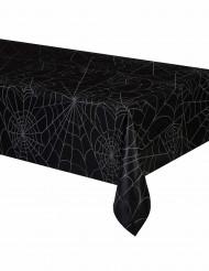 Tovaglia di plastica rettangolare con ragnatele per Halloween