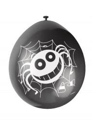 10 palloncini con ragni per Halloween