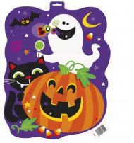 Decorazione Happy Halloween colorata