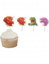12 Decorazioni Dinosauri per torte