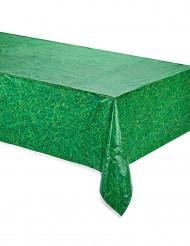 Tovaglia di plastica verde stampa prato