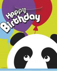 8 sacchetti regalo con stampa orsetti Panda
