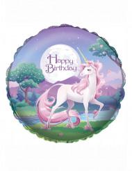 Palloncino di alluminio Happy Birthday