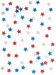 Coriandoli a forma di stelle americane
