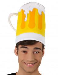 Cappello a forma boccale di birra