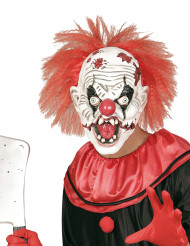 Maschera clown assassino Halloween adulto