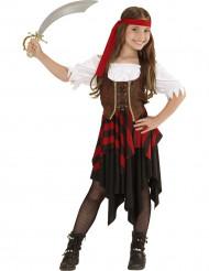Travestimento con fascia piratessa per bambina