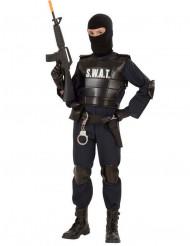Costume poliziotto squadra speciale bambino