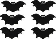 6 pipistrelli di zucchero per dolci
