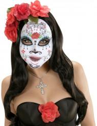 Maschera adulto tema dia de los muertos