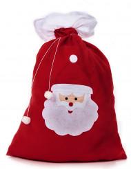 Sacco rosso porta regali di Babbo Natale