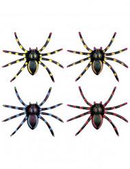 4 ragni fosforescenti per Halloween