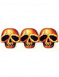 Ghirlanda teste di morto Halloween
