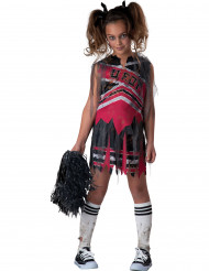 Costume ragazza pompon zombie bambina