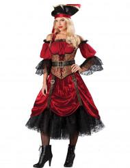 Costume da pirata per donna in versione Premium