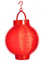 Lanterna luminosa 15cm colore rosso