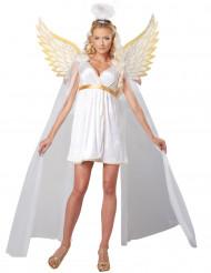 Costume per donna angelo luminoso